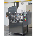 Automatic Jar Filling and Capping Monoblock
